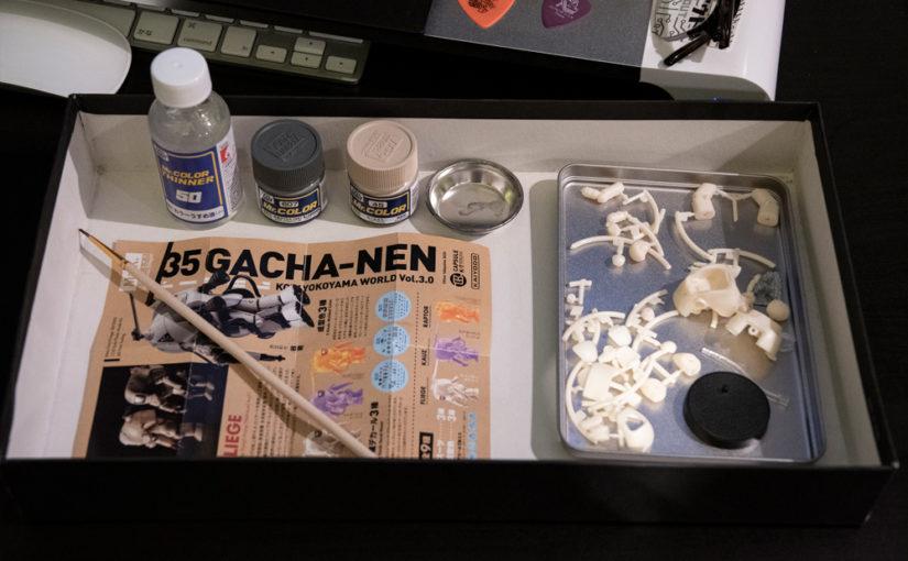 35 GACHA-NENの塗装
